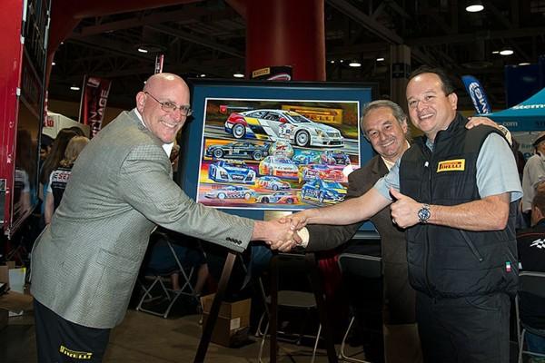Pirelli World Challenge 25th anniversary poster unveiled