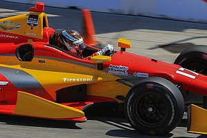 IndyCar Breaking news Saavedra penalized for full-course yellow infraction at Long Beach