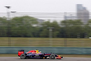 Formula 1 Practice report No issues for Red Bull Racing at Shanghai today