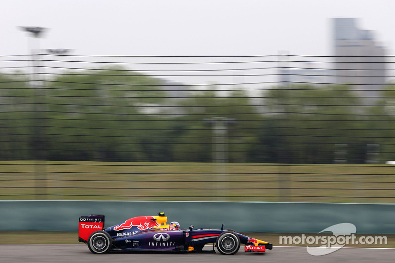 No issues for Red Bull Racing at Shanghai today