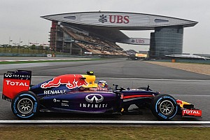 Formula 1 Qualifying report Both Red Bull drivers on qualifying podium at China