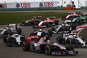 Formula 1 Race report Another points finish for Toro Rosso's Kvyat in China