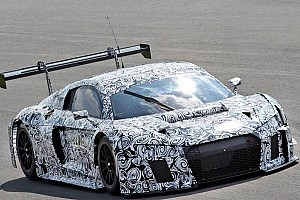 Endurance Breaking news Audi tests unidentified car in private session at Monza