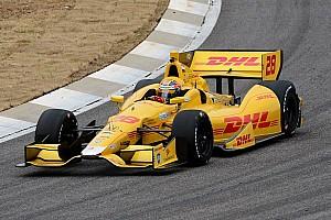 IndyCar Practice report Barber Motorsports Park remains sweet for Hunter-Reay