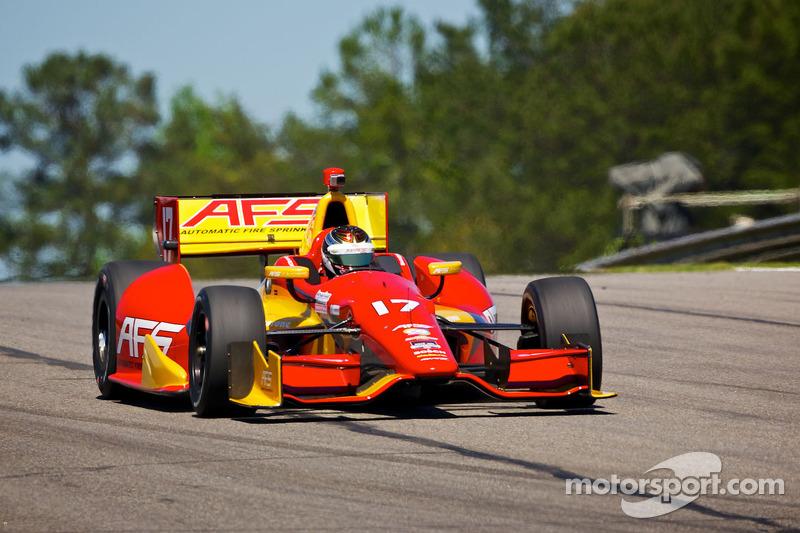 Sebastian Saavedra finishes 18th at Honda Indy Grand Prix of Alabama