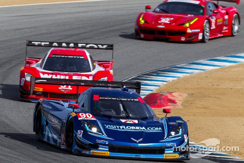 Front row start for Spirit of Daytona Racing at Laguna Seca