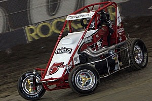 Midget Race report Daum takes POWRi Midget series win