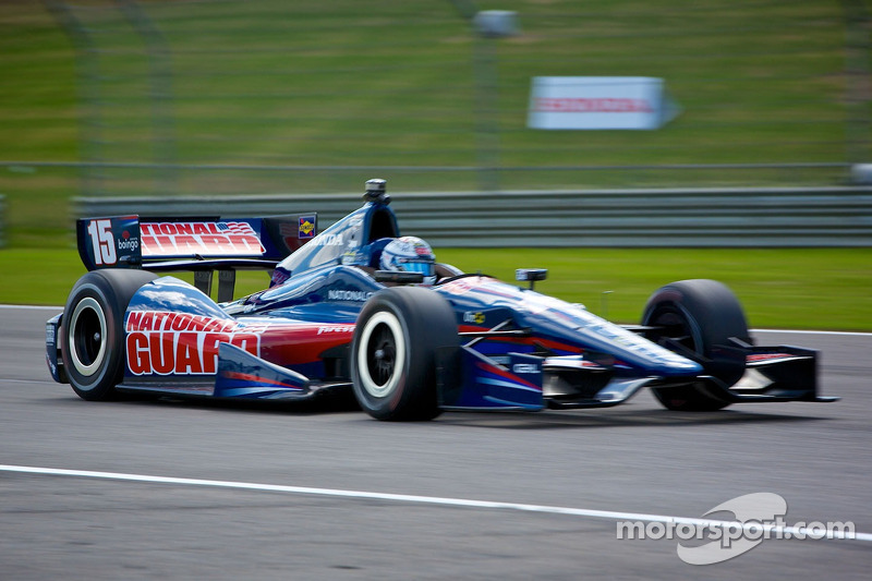 Rahal and Servia set the seventh and 23rd fastest times in practice at Indianapolis