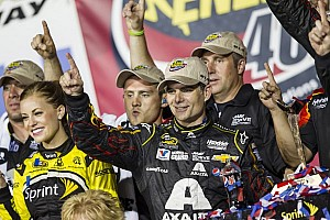 NASCAR Cup Race report Gordon gets third Kansas win – and first win of 2014 season