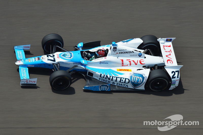 Day 3 of Indy 500 practice cut short by rain - Viso tops speed charts