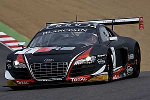 Blancpain Sprint Qualifying report Laurens Vanthoor takes pole after thrilling qualifying session