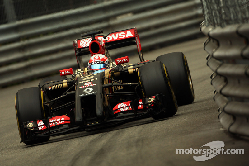 A steady day for Lotus on free practice at Monaco