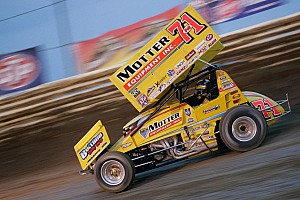 World of Outlaws Race report Saldana snags sprint car win at Charlotte