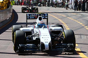 Formula 1 Qualifying report Bottas 13th and Massa 16th in a tough qualifying session in Monaco