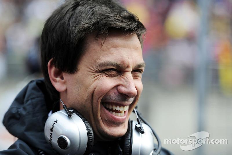 Happy Toto Wolff surprised by McLaren, Ferrari struggles
