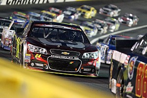 NASCAR Cup Race report Jeff Gordon overcomes spasms; finishes seventh at Charlotte