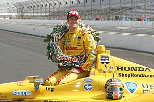 IndyCar Commentary Hunter-Reay continues to ride on the victory cloud