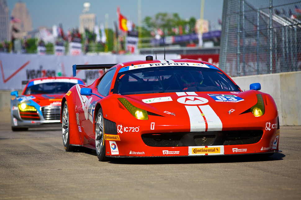 Balzan holds off late-race charge to give Ferrari victory at Detroit Belle Isle