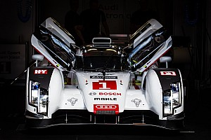 Le Mans Testing report Audi R18 e-tron quattros third, fourth and sixth in Le Mans test