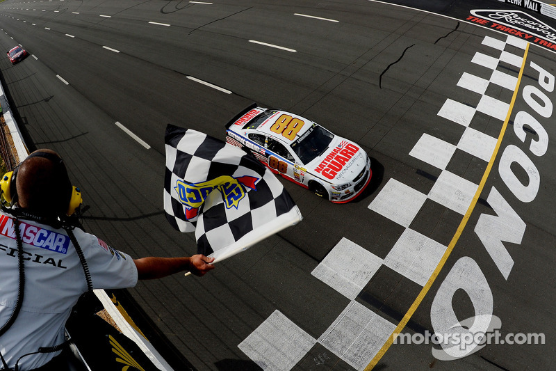 Earnhardt Jr. wins for the second time in 2014
