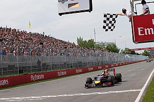 Formula 1 Race report An amazing podium for both Red Bull drivers in Canada