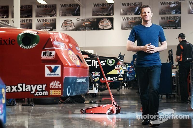 Dale Earnhardt Jr, 2-time Daytona 500 champion and Chevrolet salesman