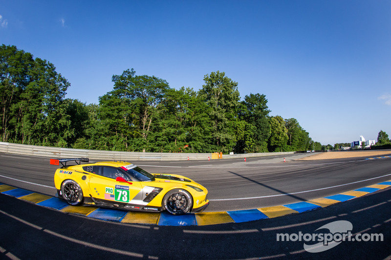 Taylor, Long open strong in first 24 Hours of Le Mans practice
