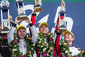 Le Mans Race report JOTA Sport claims magnificent Le Mans 24 Hour race victory