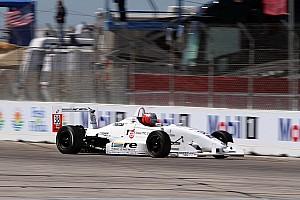 Pro Mazda Race report Hargrove wins Pro Mazda opener at Houston