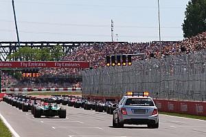Formula 1 Breaking news Pirelli raises concerns over grid restarts