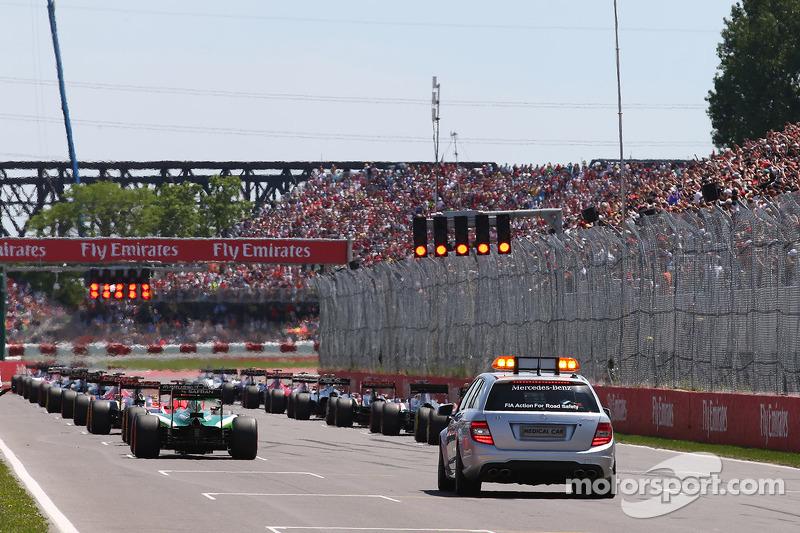 Pirelli raises concerns over grid restarts