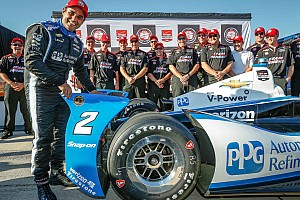 IndyCar Qualifying report Montoya soars to Pocono pole