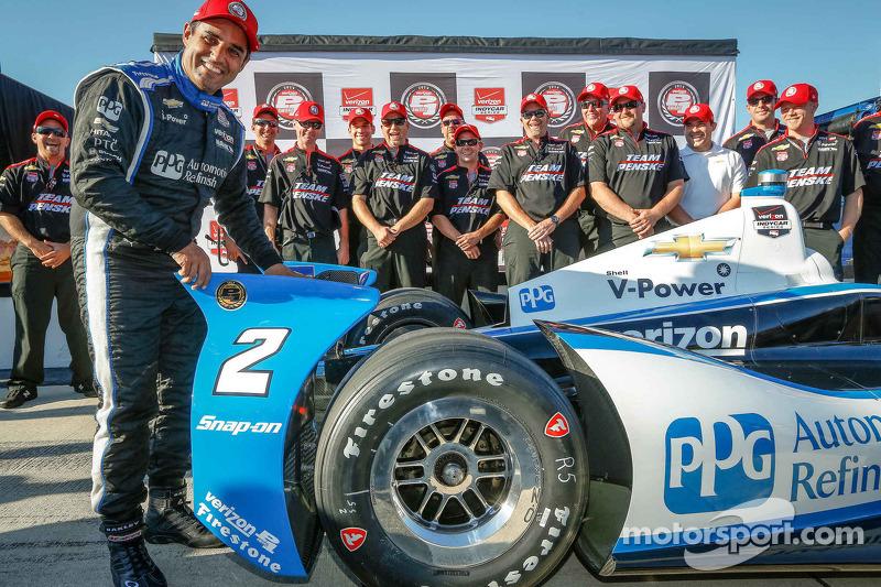 Montoya soars to Pocono pole