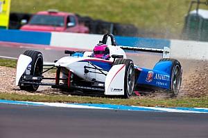 Formula E Practice report Andretti Formula E concludes its third test