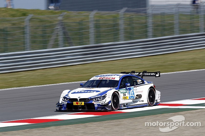 BMW's  Martin claims his maiden win at the Moscow Raceway