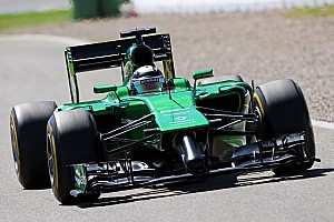 Formula 1 Practice report Friday practice at Hockenheim: Caterham improves since last race