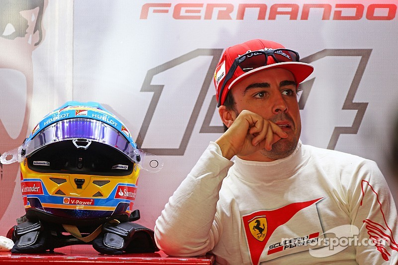 Alonso talks down Ferrari's 'big hope' for better 2015