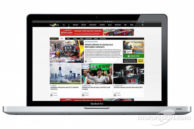 Motorsport.com launches new version of its popular online platform