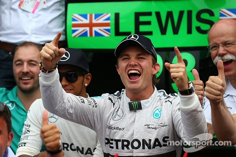 Rosberg not worried about 'Hamilton track' Hungary