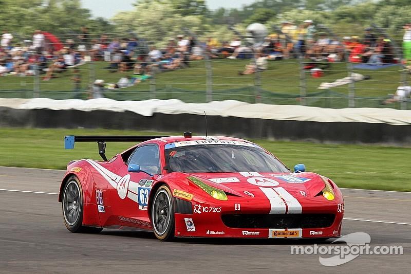 Scuderia Corsa kisses the Bricks at Indianapolis