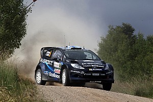 WRC Stage report Hirvonen in contention