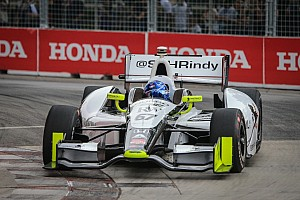 IndyCar Qualifying report Newgarden to start on front row at Mid-Ohio