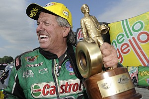 NHRA Qualifying report John, Courtney Force battle for top Funny Car qualifying spot in Seattle