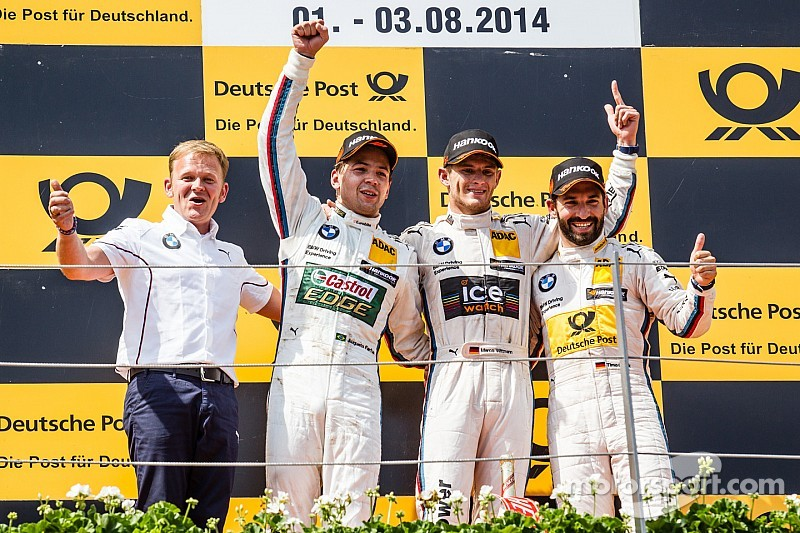 BMW claims top four positions for the first time in the DTM since 1992