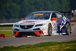 PWC Race report Early contact ruins new Acura TLX GT's second outing at Mid-Ohio