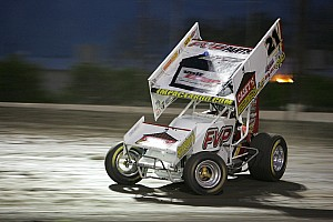 World of Outlaws Race report Brian Brown takes night one at the FVP Knoxville Nationals