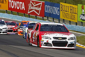 NASCAR Cup Breaking news A heavy load: NASCAR fines Kevin Harvick's team