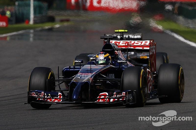 Daniil Kvyat scored another point for Toro Rosso