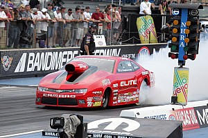 NHRA Qualifying report Enders-Stevens all smiles after 'beating' husband in Indy's Q3