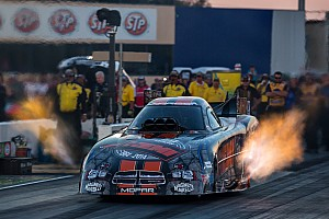 NHRA Qualifying report DSR sweeps Mello Yello No. 1 spots for NHRA U.S. Nationals
